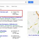 Plumbing Website Example 1
