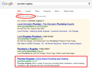 Plumber Website Result